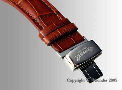Ingersoll original strap with bucket clasp