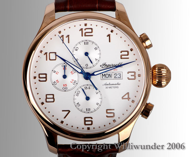 Williwunder watches Ingersoll Apache 3900RG 2f58e7ccb74