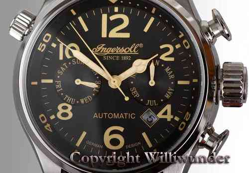 Ingersoll watch Bull Run 1809BK